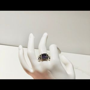 Amethysts ring size 9